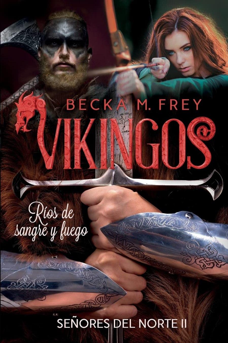 Vikingos: Ríos de sangre y fuego Book Cover