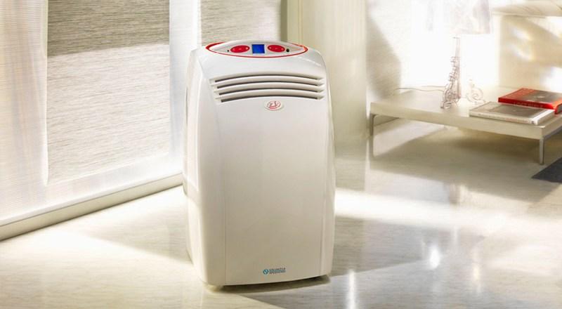 Condizionatore Portatile Olimpia Splendid Ellisse HP, climatizzatore portatile A/A++