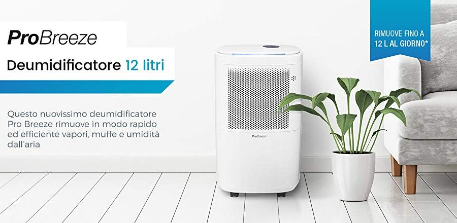 Deumidificatore Pro Breeze 12L