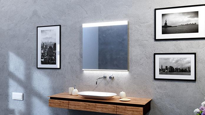 Jakie powinno być oświetlenie nad lustro w łazience