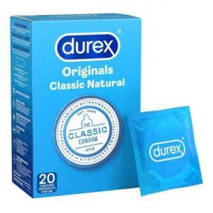 durex classic natural condooms - 20 stuks