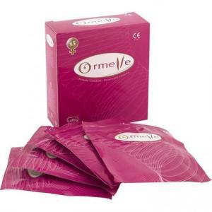 Ormelle vrouwencondooms - 5 Stuks
