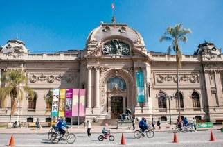 Das Museo de Bellas Artes im Parque Forestal