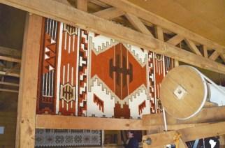 Teppichknüpferei in Puyuhuapi: Der Betrieb geht auf die deutsche Gründung der Siedlung selbst zurück.
