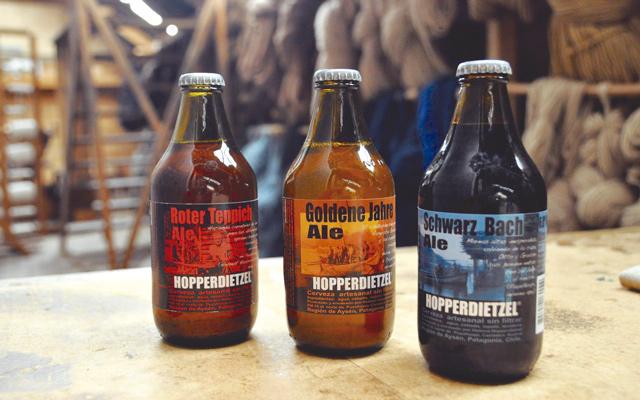 Hopperdietzel-Bier aus dem südchilenischen Puyuhuapi