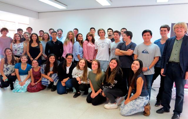 Das LBI und das Insalco begrüßten vergangene Woche ihre neuen Studenten.