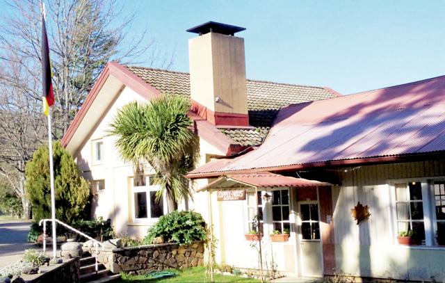 Das heutige Restaurant «Zippel-Haus» diente in der Colonia Dignidad als Versammlungsraum.