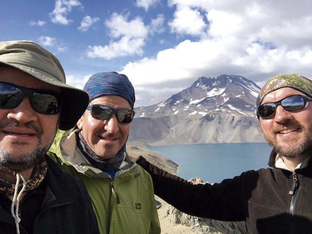 Alejandro Lifschitz, Daniel Ibáñez und Arne Dettmann