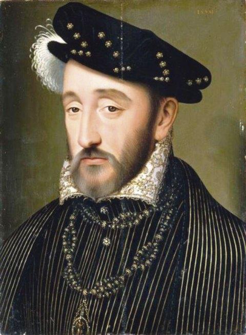 Heinrich II. von Frankreich (1519 – 1559) wurde als 14-Jähriger mit Katharina von Medici verheiratet. Er hatte jedoch wenig Interesse an ihr und nahm sich bald Geliebte.