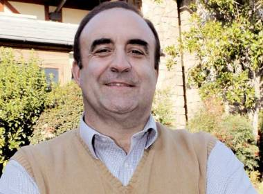 Francisco Ríos Geschäftsführer des Club Manquehue