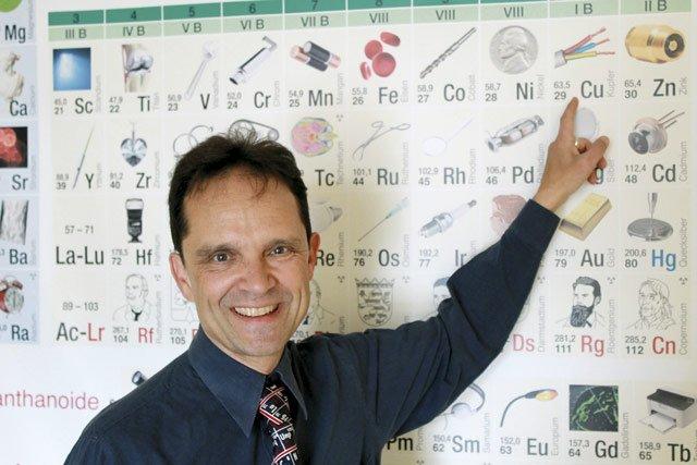 Helmuth Biernoth - Lehrer an der Deutschen Schule Santiago