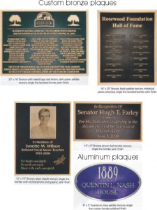 custom bronze plaques for a park bench or memorial or special event by condor signs vernon bc