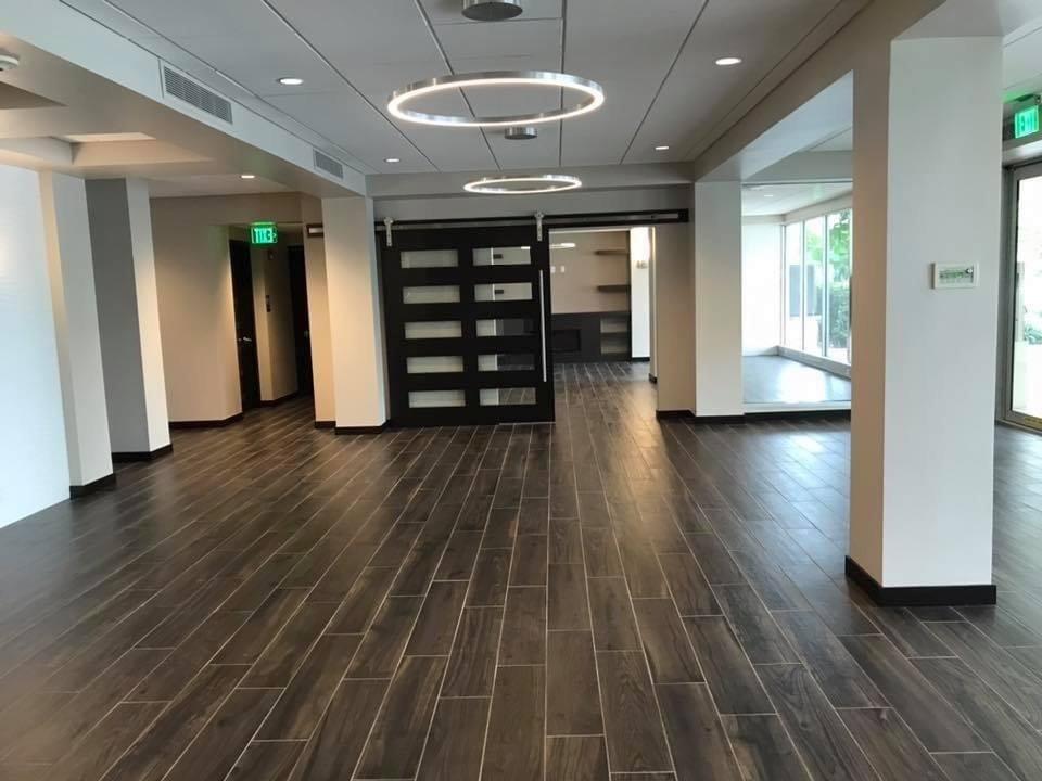 VT1 Lobby renovation Sept 2020