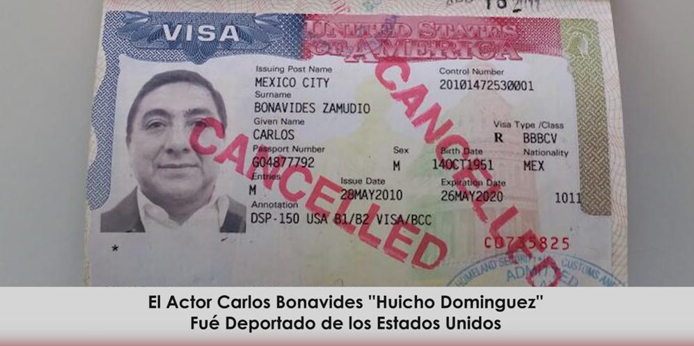 Carlos Bonavides Deportado