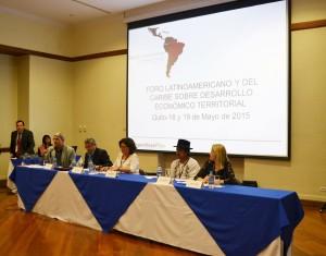 Conferencistas de toda América Latina compartieron experiencias concretas sobre diferentes temas relacionados al Desarrollo Territorial