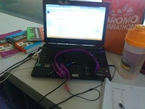 Selama sebulan menjelang ujian, selalu ke kampus numpang wifi karena mau belajar secara online