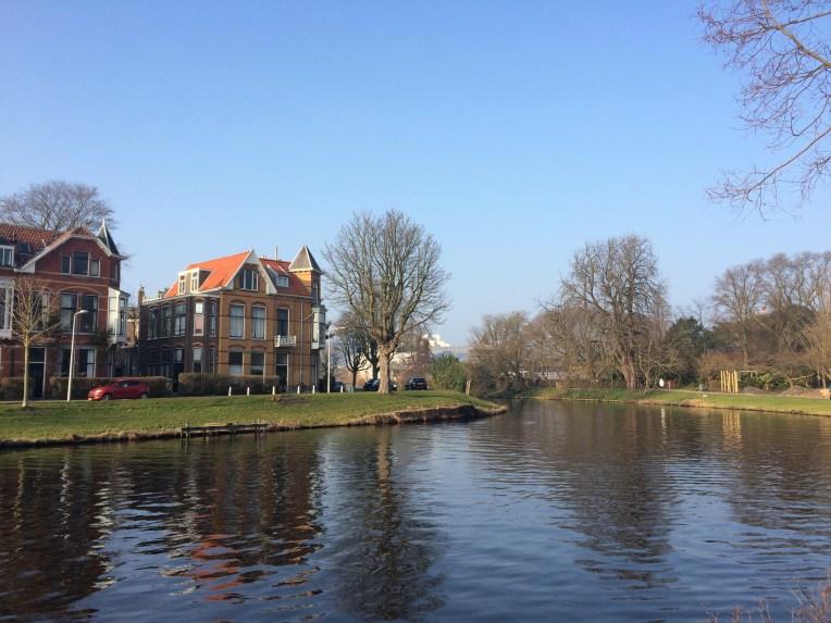Lingkungan kampus Universitas Leiden