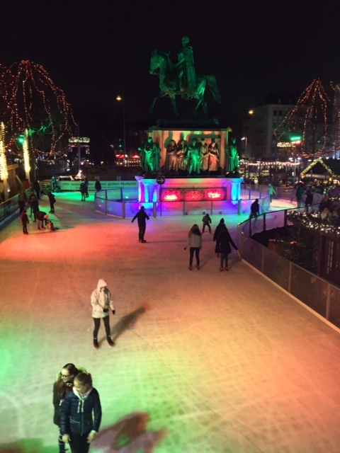 Arena Ice Skating