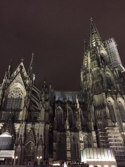 Cathedral dimalam hari