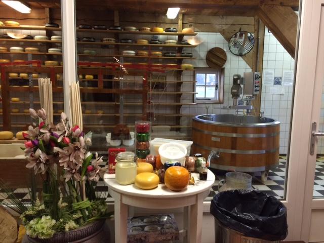 Pabrik pembuatan keju