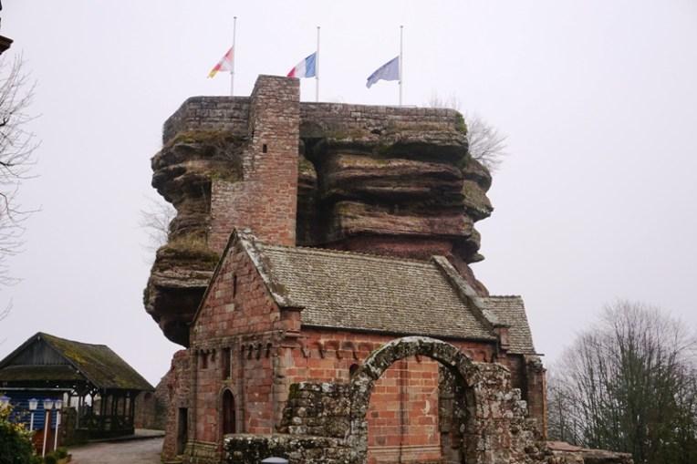 Kastil Haut-Barr di Saverne