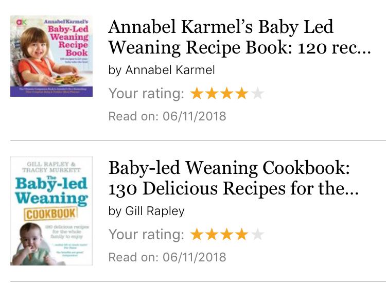 Buku resep Baby Lead Weaning