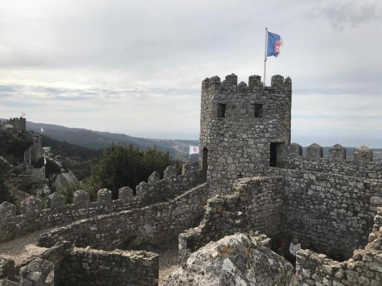 Castle of the Moors di Sintra - Portugal