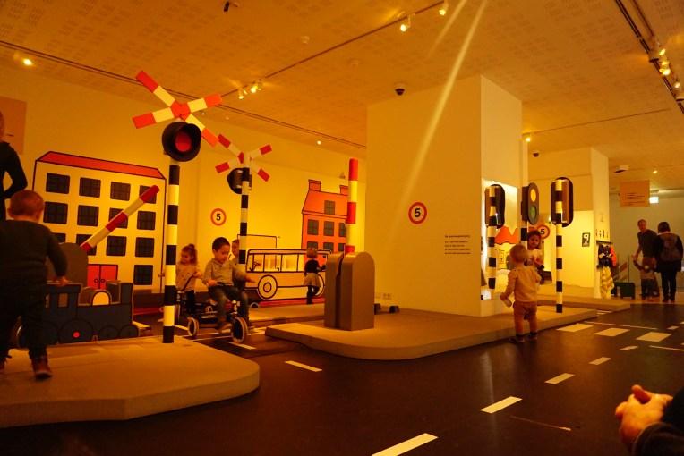 Ruangan mengenal lalu lintas - Nijntje Museum - Utrecht - Belanda
