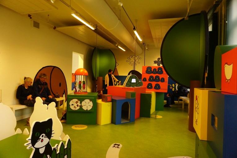 Ruangan mengenal binatang - Nijntje Museum - Utrecht - Belanda