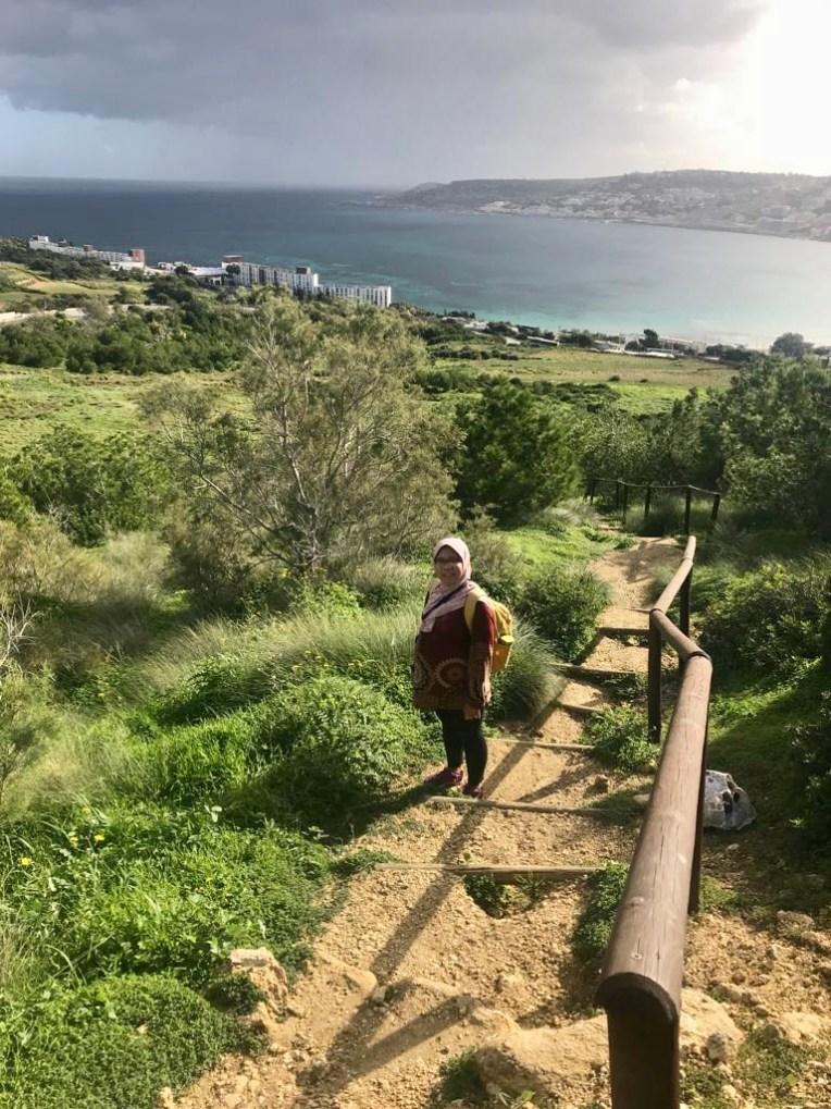 Trekking ke Kastil Merah di Mellieha