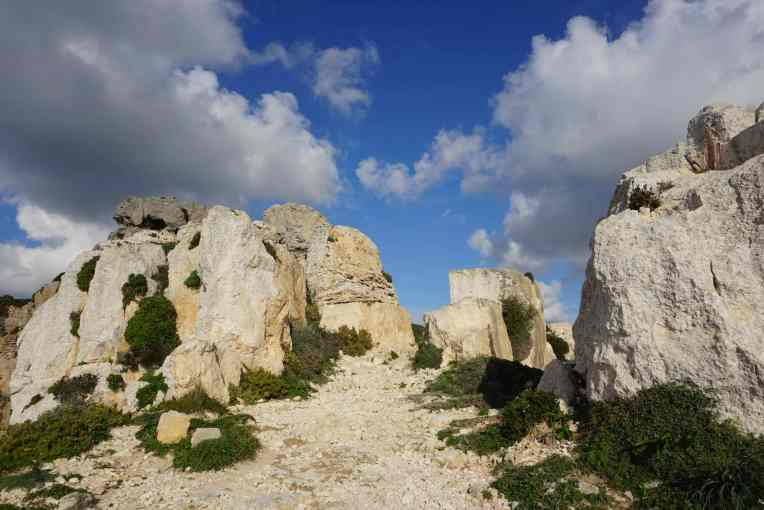 Matahari cerah - Dingli Cliffs