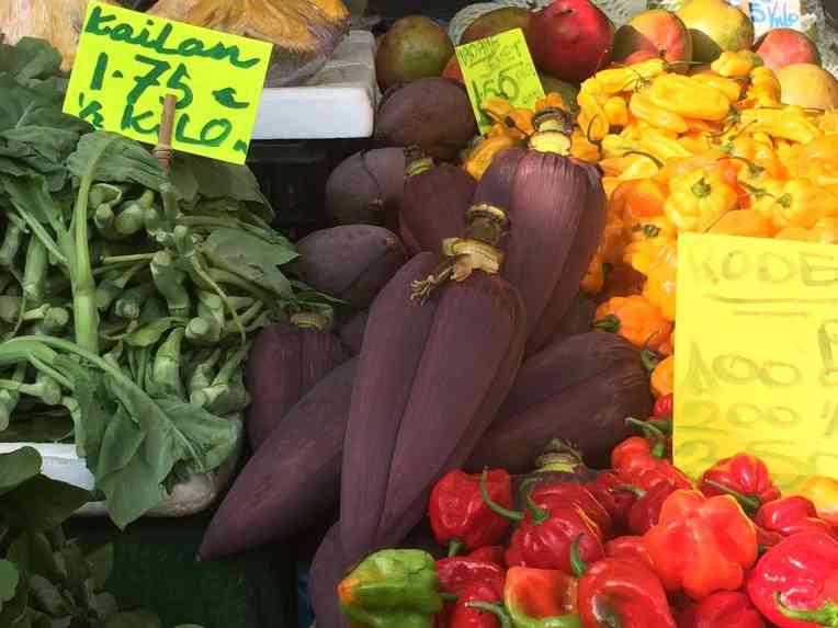 De Haagse Markt - Den Haag - Belanda. Ontong (jantung pisang) pun ada