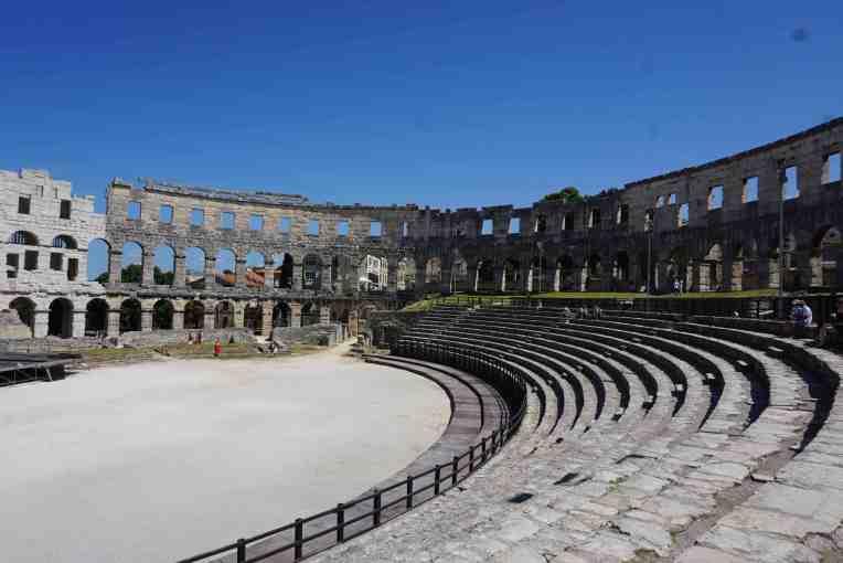 Pula Arena - Roman Amphiteather