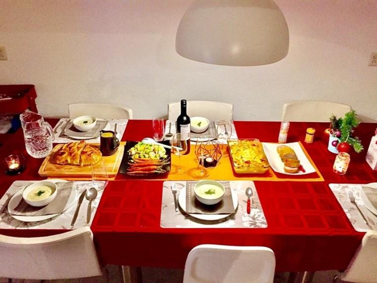 Makan malam, Natal 2019