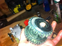 Pinion tail spacer