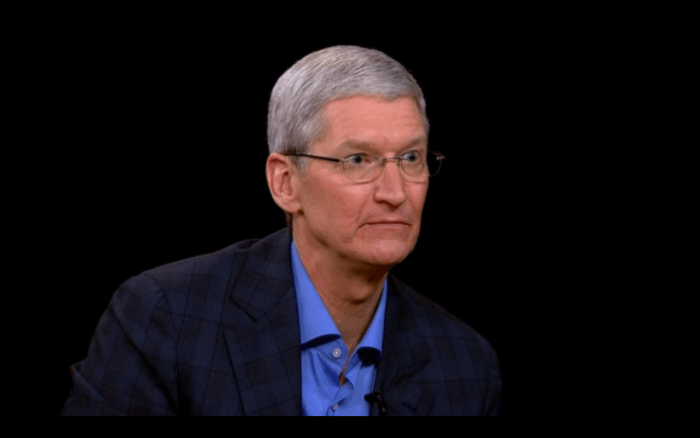 tim cook death stare