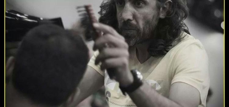 Pusa & Mariola peluqueros en la gran exhibición de peluquería masculina en Madrid