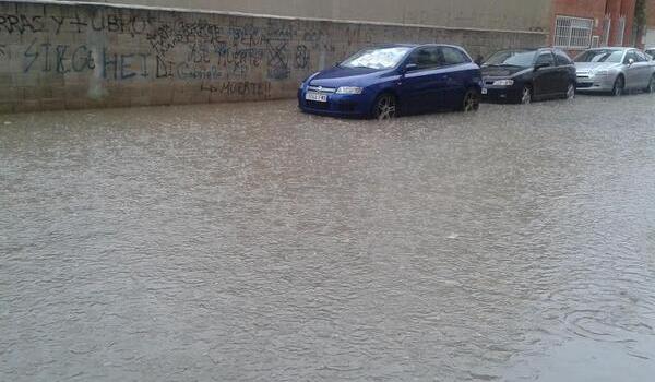 Forta tempesta Ahir a Canals