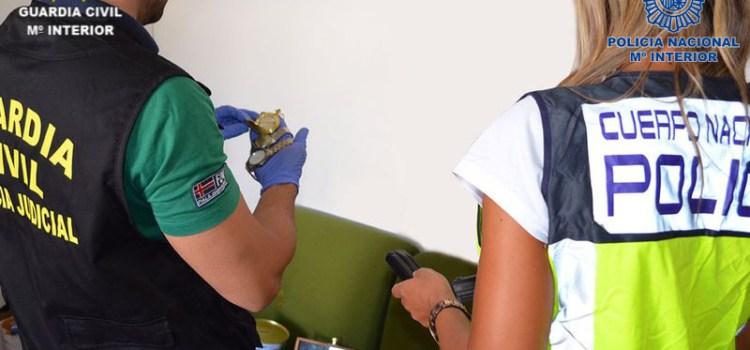 La Policía Nacional y la Guardia Civil desarticulan una organización asentada en Xátiva dedicada al los robos con violencia y robos con fuerza