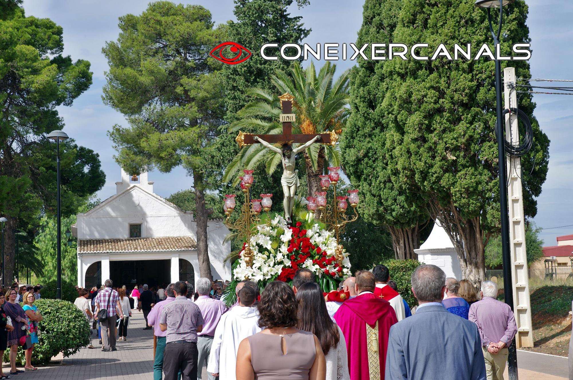 Canals puja el Cristo de la salut el diumenge a migdía