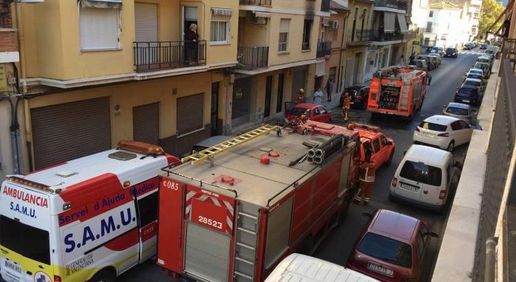 Una dona mor en un incendi ahir a Canals