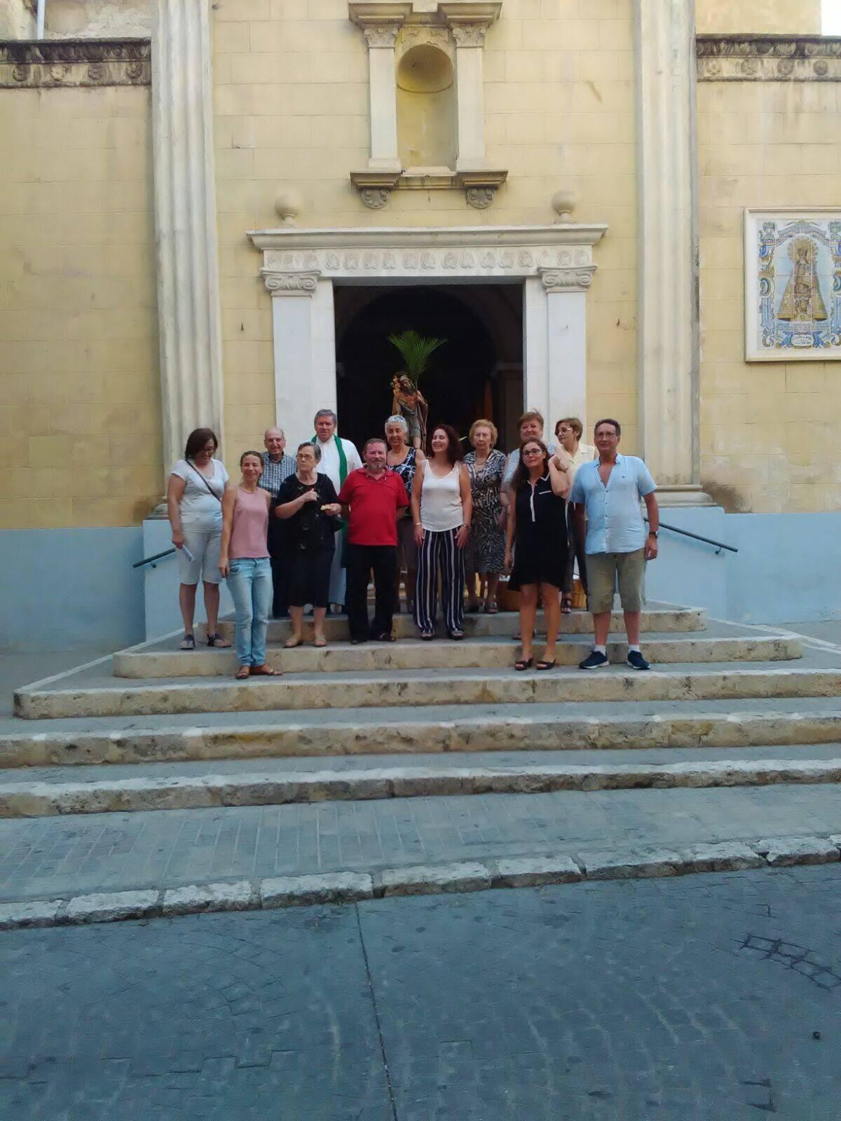 Celebració de Sant Cristòfol a La Llosa de Ranes