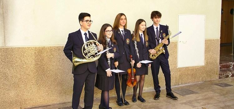 Ahir diumenge van eixir 6 nous músics a la banda de l'Associació Musical Canalense