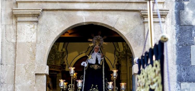 El dissabte día 10 de febrer continua la conmemoració del XXV Aniversari Coronació Mare de Déu dels Dolors amb el sector Pavelló.