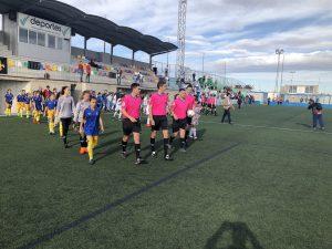 Empate y victoria en el arranque del Nacional Femenino Alevin de Murcia