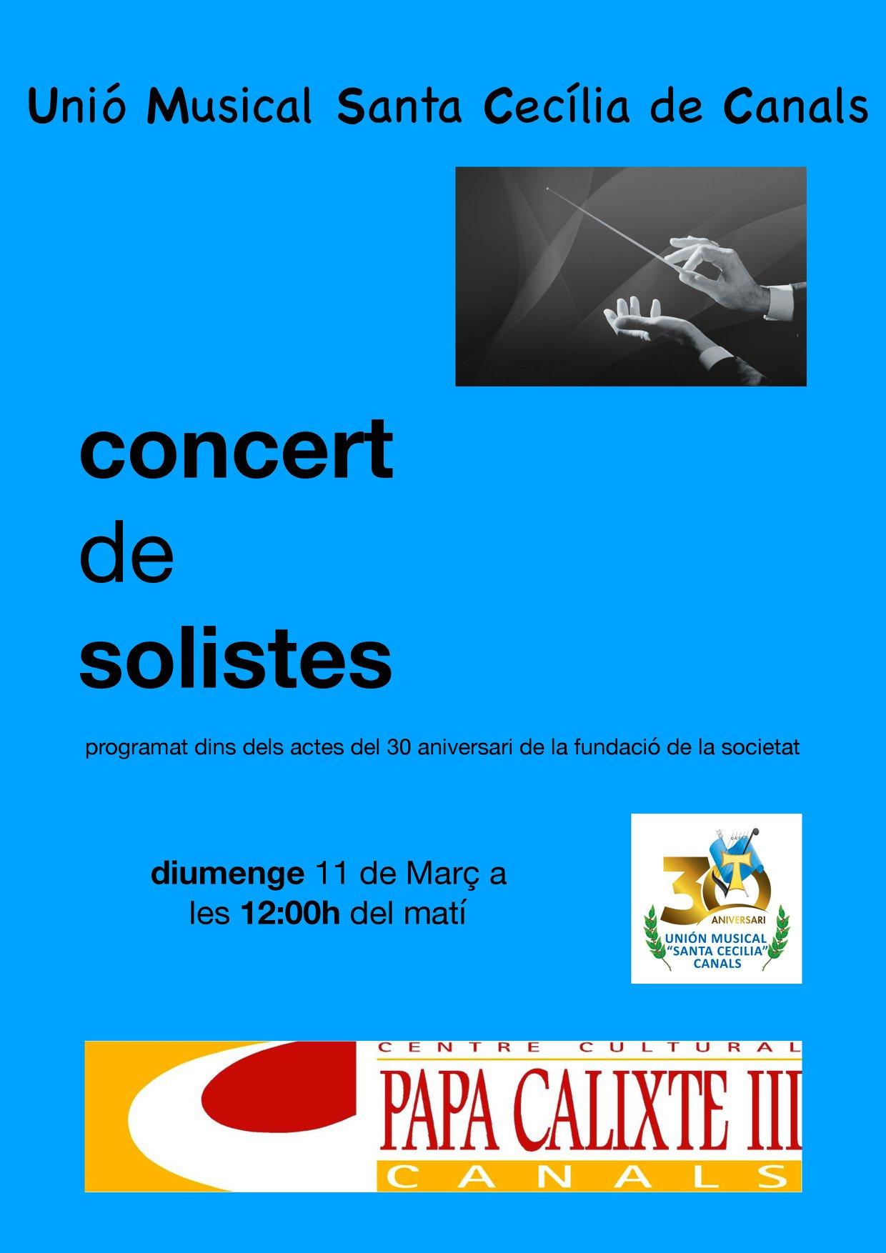 La UMSC inicia la celebració del 30 aniversari el proxim diumenge amb un concert de solistes