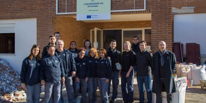 """Xàtiva aconsegueix prorrogar 12 mesos l'escola d'ocupació """"Escorxador viu"""""""