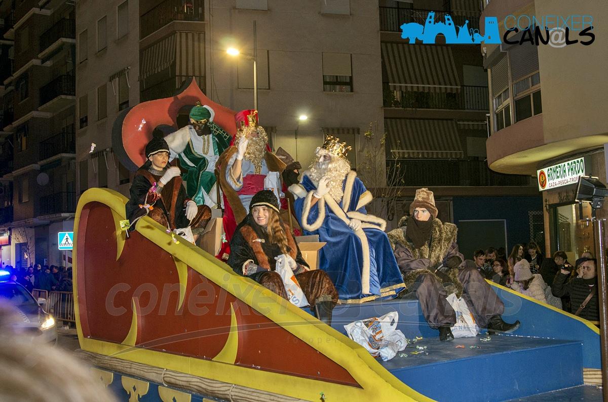El proper dissabte, 5 de gener, els Reis Mags d'Orient arriben a Canals.