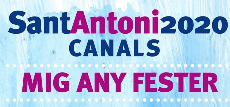 Arriba el mig any fester de Sant Antoni Abat 2020 a Canals