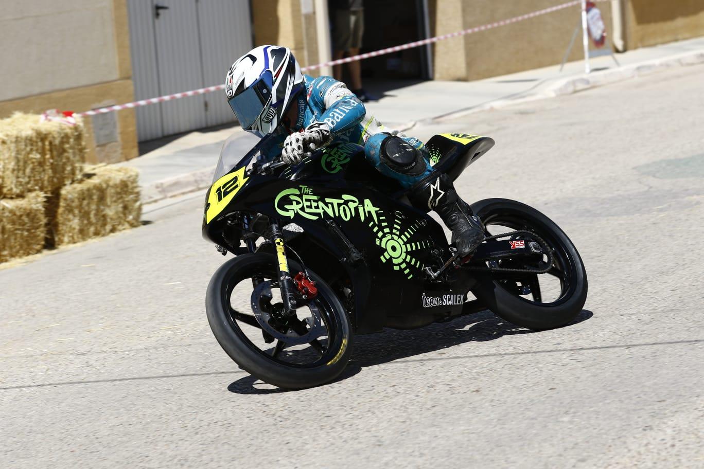 El piloto canalense José Munera participa en el campeonato Manchego de urbanas